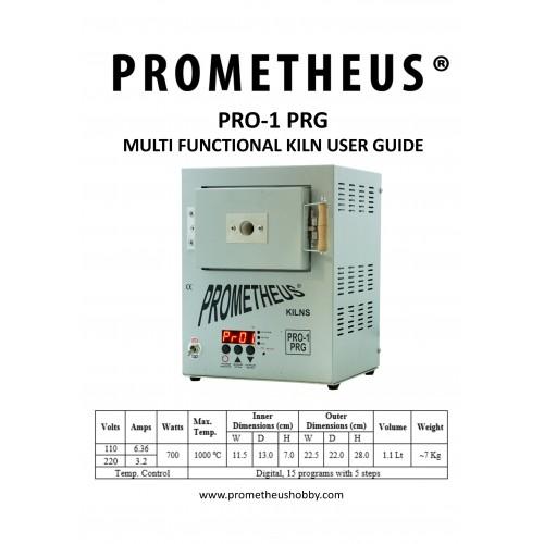 Prometheus Mini Electric Kiln Pro-1 With Digital Controller w// EU Plug