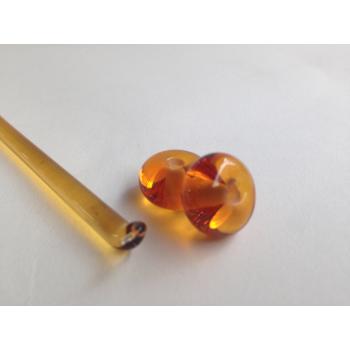 Light Amber Transparent Sheet 50cm x 50cm (012)