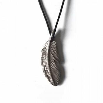 Kuş Tüyü - Beyaz Bronz