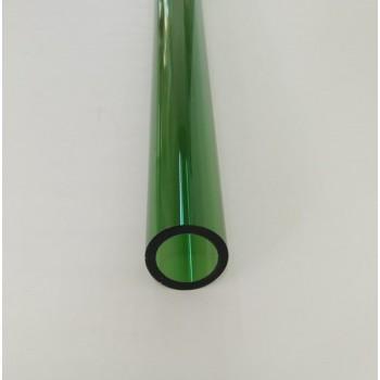 Borosilicate Tube Green 22x3mm