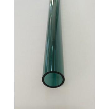 Borosilicate Tube Teal 22x2mm