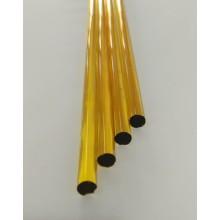 Borosilicate Yellow Rod 8mm