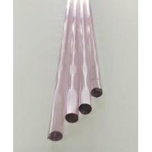 Borosilicate Pink Rod 7mm