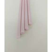 Borosilicate Milky Pink Rod 8mm
