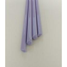 Borosilicate Milky Violet Rod 6mm