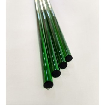 Borosilicate Green Rod 7mm