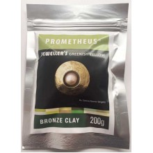 Prometheus® Jeweller's Greenish Yellow Bronze Clay 200 g