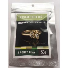 Prometheus® Jeweller's Greenish Yellow Bronze Clay 50 g