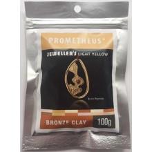 Prometheus® Jeweller's Light Yellow Bronze Clay 100 g