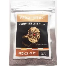 Prometheus® Jeweller's Light Yellow Bronze Clay 50 g