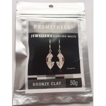 Prometheus® Jeweller's Sterling White Bronze Clay 50 g