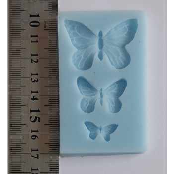 Butterfly Designs No3 Silicone Mould