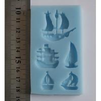 Ship Designs Silicone Mould
