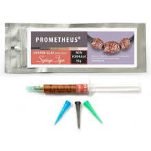 Prometheus® Copper Clay Syringe Type 10gr.(w/3tips)