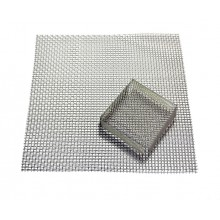 Stainless steel net with protection for stovetop firing