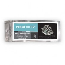 Prometheus® White Bronze Clay Syringe Type 10gr.(w/3tips)